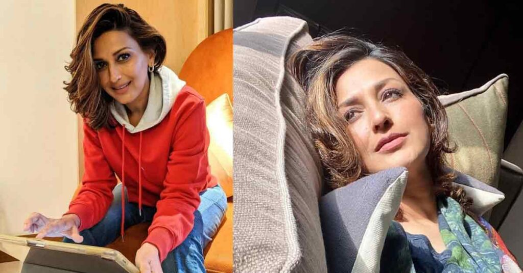 sonali bendre without makeup